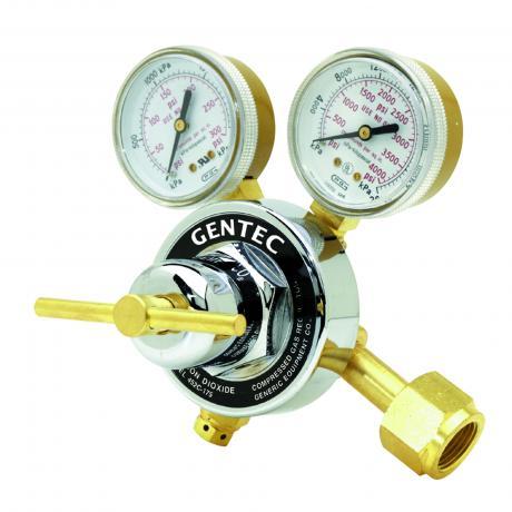 452IN-80 GENTEC Inert Gas AR HE N Regulator